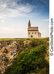 Old Roman Church in Drazovce, Slovakia