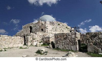 old roman Citadel Hill,AmmanJordan