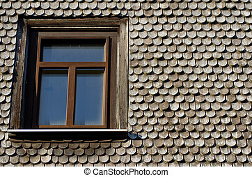 Old roof. Germany