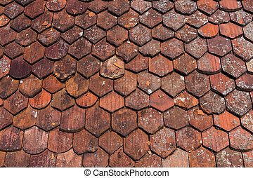old roof shingles background - old roof shingles texture for...
