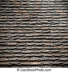 Old roof texture and background