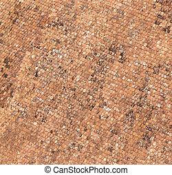 old roof tiles in Rothenburg ob der Tauber