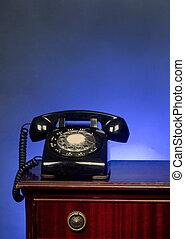 Old Rotary telephone.