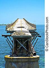 old rotten bridge
