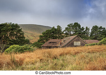 Old ruin house in wales