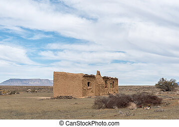 Old ruin in the Tankwa Karoo
