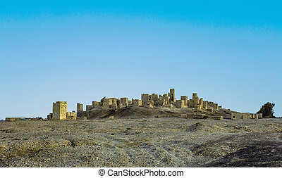 old ruin of Marib in Yemen