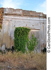 Old ruins of Partanna, Sicily