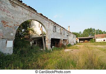 Old rural farm