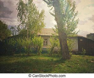 Old rural village house