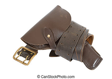 Old Russian army holster