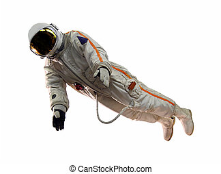 old russian astronaut suit
