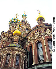 Old russian cathedral