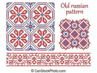 Old russian pattern.