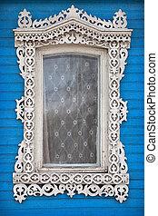 Old Russian Style Window