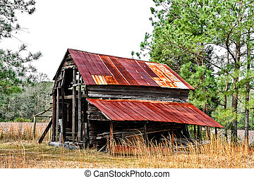 Old Rustic Barn
