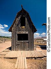 Old rustic barn
