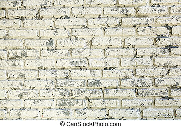 Old rustic brick wall background