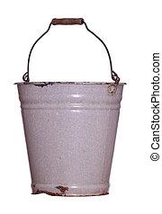 old rustic bucket