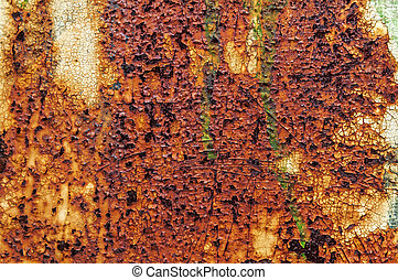 Old rusty abstract background