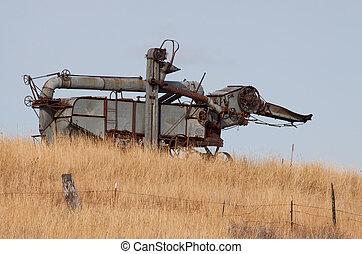 Old Rusty Combine