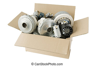 motors from vacuum cleaners