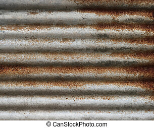 Old rusty galvanized texture background