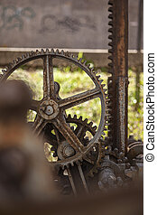 Old rusty gears 7