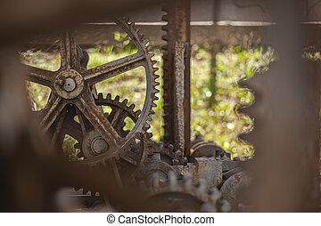 Old rusty gears 8