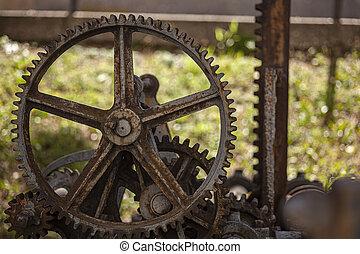 Old rusty gears 9