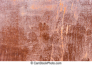 Old rusty iron metal background plate texture