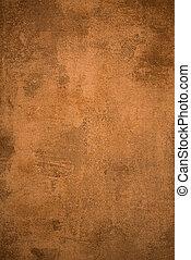 Old rusty metal sheet