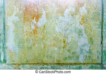 Rusty metal texture with grunge pattern