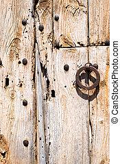 Old Rusty Wooden Doors (3)