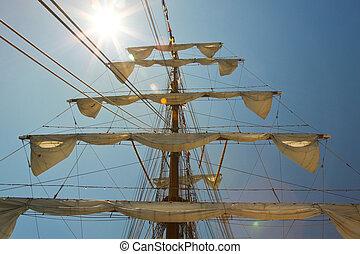 old sail ship 2