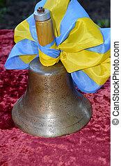 old school bell bronze