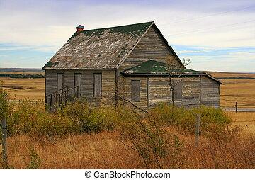 Old schoolhouse, AB