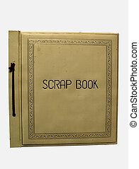 scrapbook - old scrapbook cover