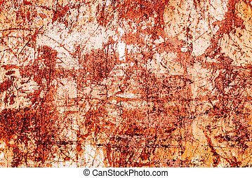 Old scratched metallic surface. - Old scratched rusty ...