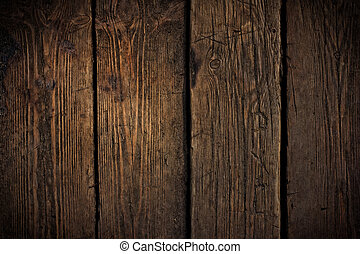 Old scratched wooden texture. May use for grunge styled design works.