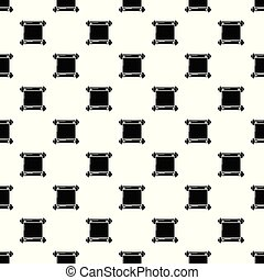 Old scroll parchment pattern vector seamless