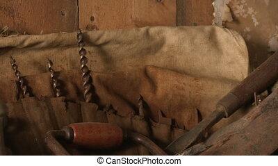 Old sculpting tools
