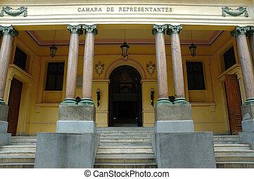 Old Senate building in Havana