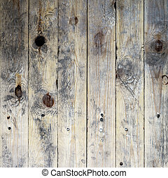 Old, shabby and vitage floor. Wooden planks texture.