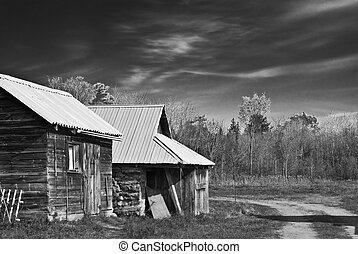Old shed - Shed originally build 100 years ago, in Rural...