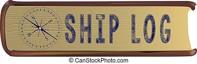 Old ship log