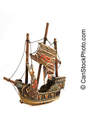 old ship model from 1492