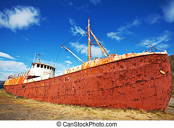 Old ship