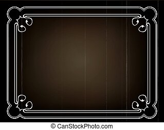 silent movie frame