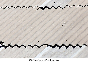 old slate roof as background